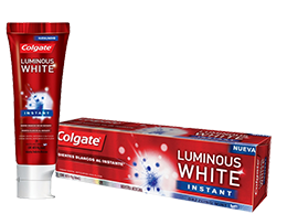 Colgate<sup>®</sup> Luminous White Instant