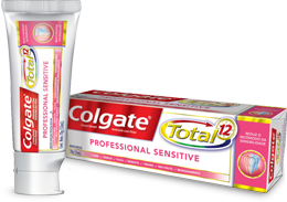 Colgate<sup>®</sup> Total 12 Professional Sensitive